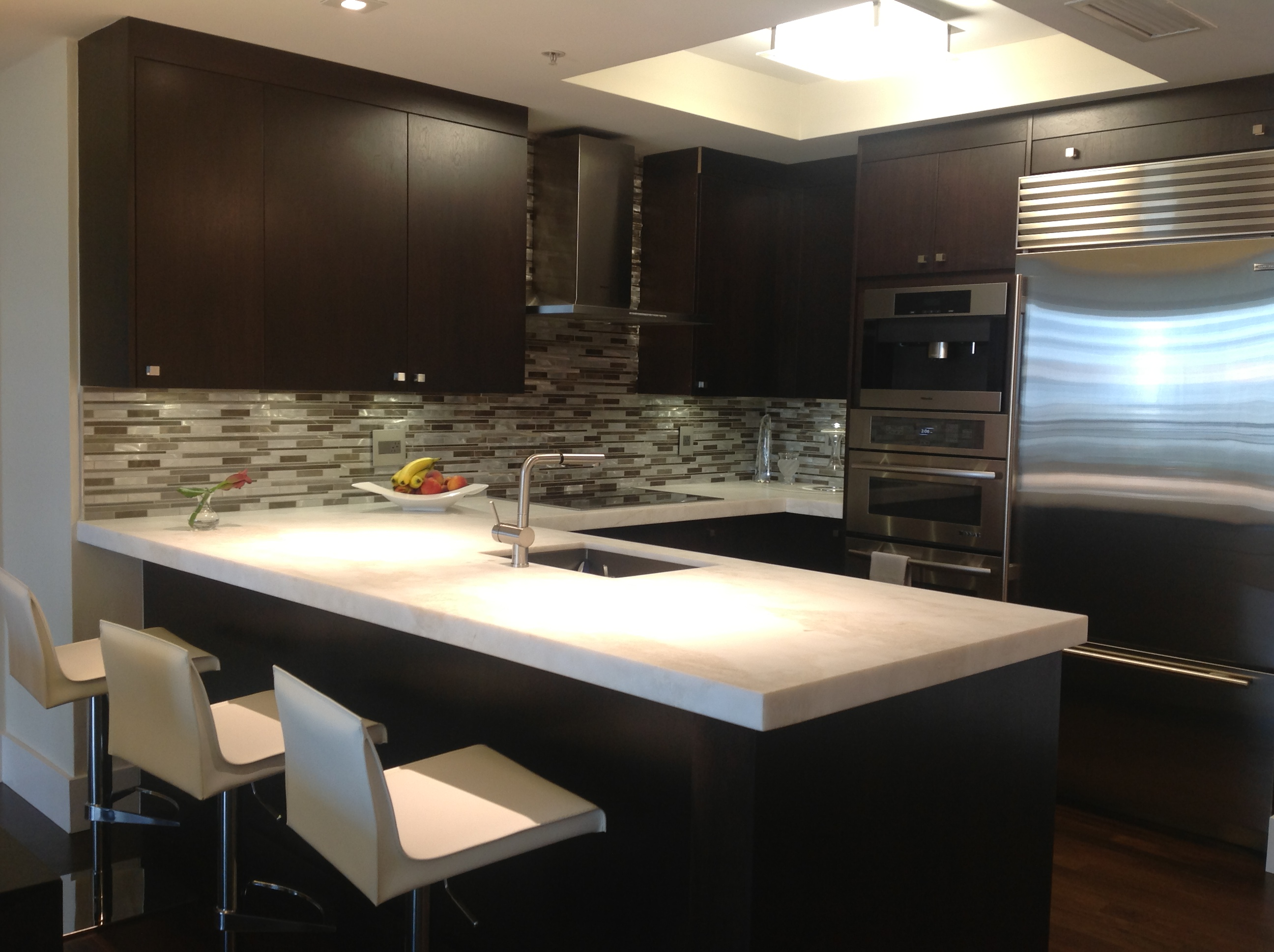 JandJ Custom Kitchen Cabinets Company Luxurious Kitchen - Custom kitchen cabinets design